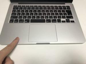 MacBook パームレスト